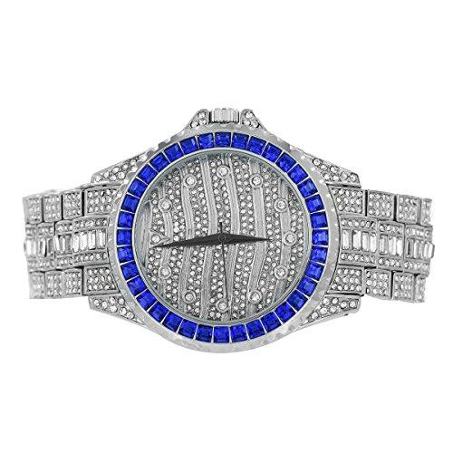 Custom Band Diamond Watch - 6