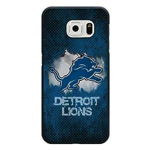 Iphone4/4S Case, Customized NFL Detroit Lions Logo Black Hard Shell Iphone4/4S Case, Detroit Lions Logo Iphone4/4S Case(Not Fit For Case Samsung Note 4 Cover )