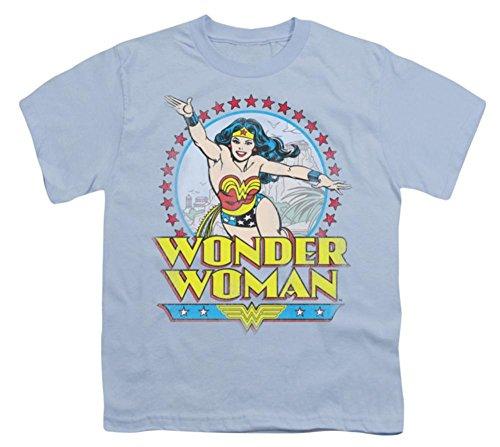 DC Comics Boys' Star Of Paradise Island T-shirt Youth Large