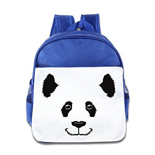 [Logon 8 Panda Smile Cute Baby Boys Girls Tollder School Hiking Backpacks Bags RoyalBlue] (Piggy Back Costume Baby)