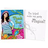Wizards Of Waverly Place Thank You Notes w/ Envelopes (8ct)