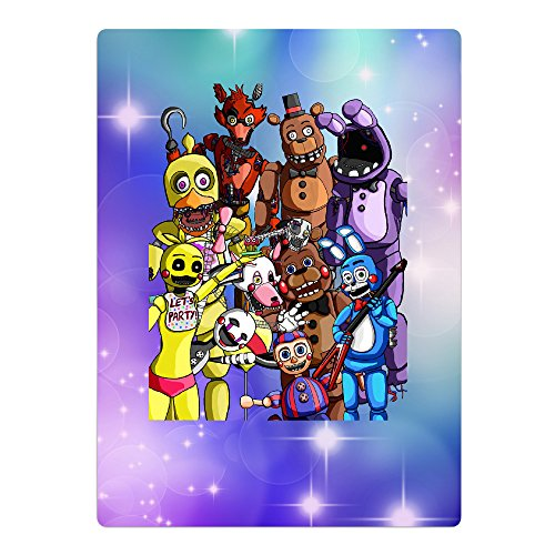 Kid's Five Night At Freddy Microfiber Large Beach-Towel Pool-Towel,Easy Care,Maximum Softness And Absorbency
