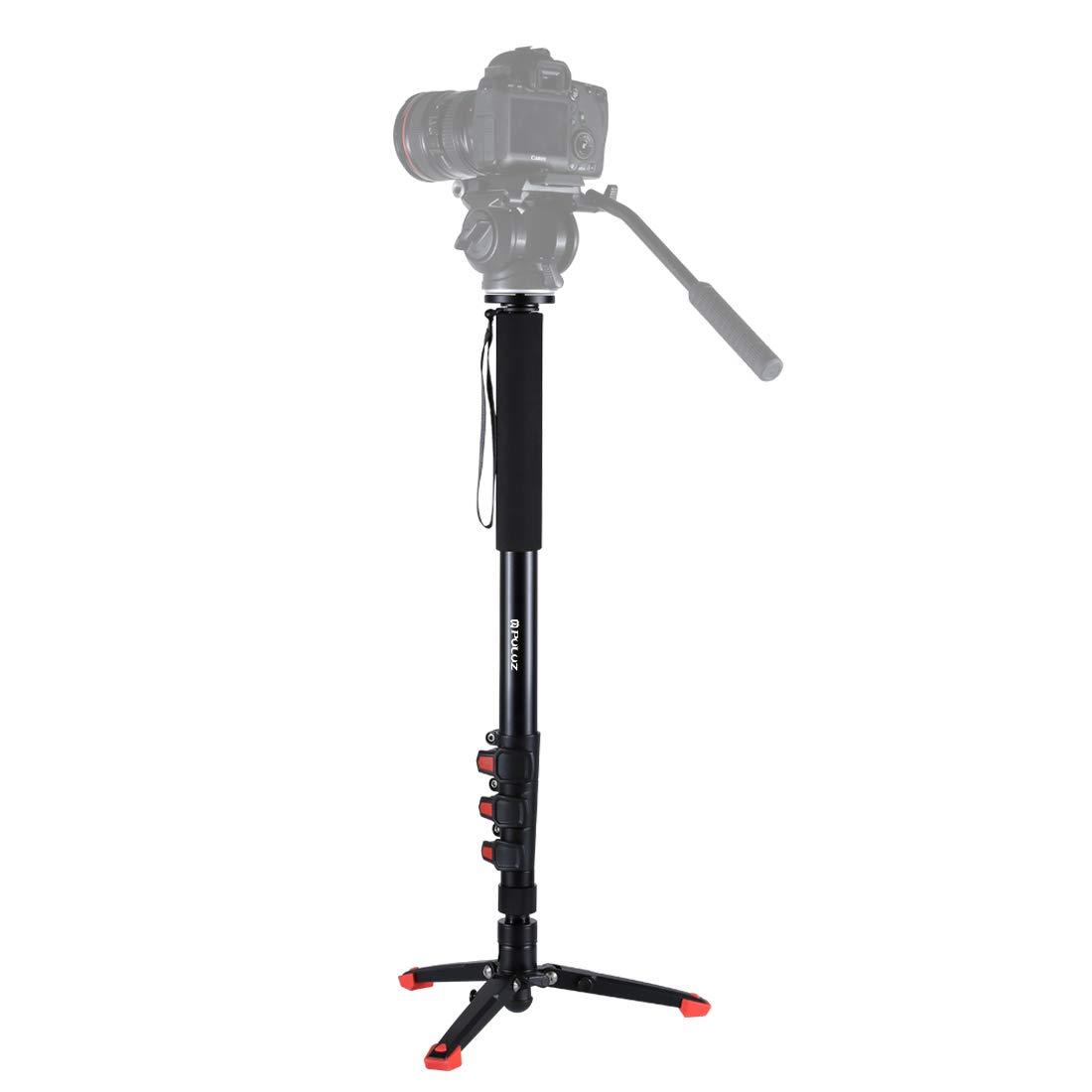 本物の KANEED カメラアクセサリー サポートベースブラケットを備えたPULUZ B07PJ7YHLY 4セクション伸縮式アルミニウム - マグネシウム合金自立モノポッド 三脚、一脚 三脚 KANEED、一脚 B07PJ7YHLY, 最安値挑戦!:9e252572 --- martinemoeykens.com