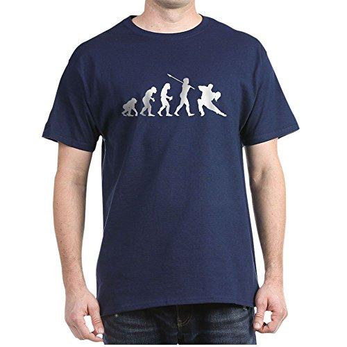 CafePress Tango Dancer 100% Cotton T-Shirt Navy