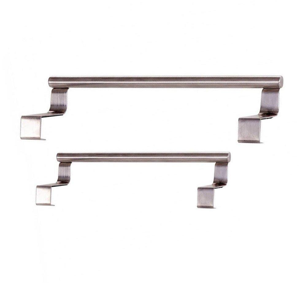 Creative Multifunctional Stainless Steel Storage Rack 2 Pcs (Long 36cm+Long 23cm)