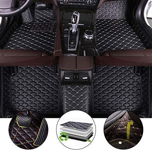 All Weather Floor Mat for 2016-2019 Jaguar F-PACE 3D Full Protection Car Accessories Black 3 Piece Set