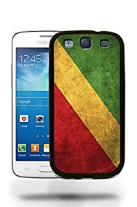 Congo National Vintage Flag Phone Case Cover Designs for Samsung Galaxy S3