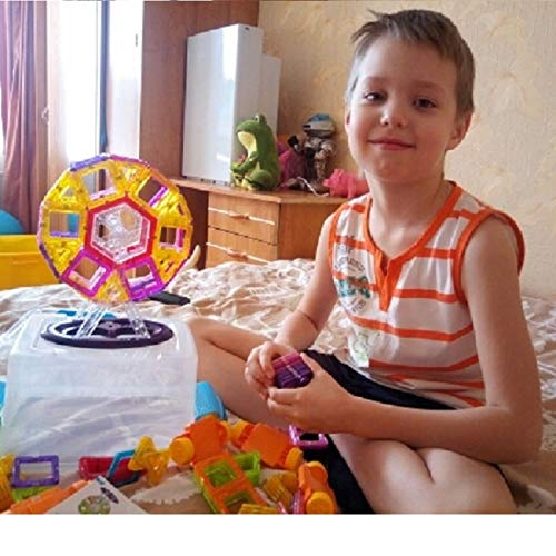 JohnCalbe 100 - 298pcs Mini Magnetic Designer Construction Set Model & Building Toy DIY Magnetic Blocks Educational Toys for Children by JohnCalbe (Image #3)