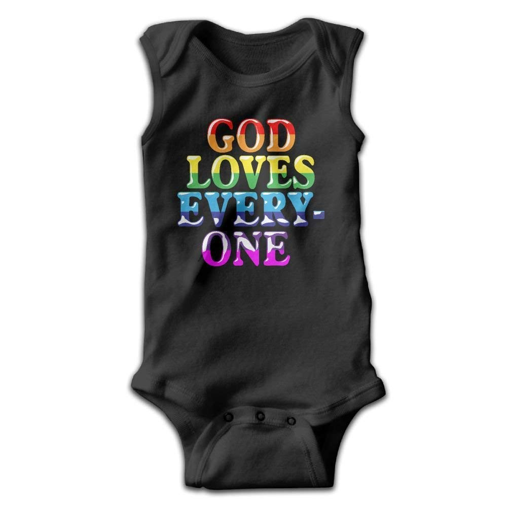 God Loves Everyone Onesies Jumpsuit