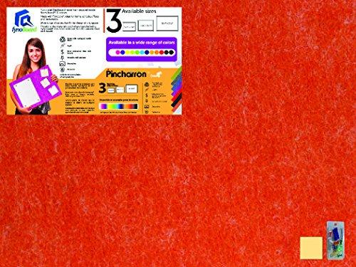 Deep Orange Bulletin Wall / Notice / Message Board 35.4 in x 23.6 - Stores Mall Centro El
