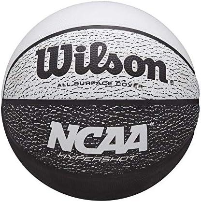 Wilson NCAA ハイパーショットバスケットボール 29.5 ブラック/ホワイト