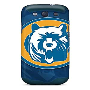 Samsung Galaxy S3 DDW19013SdVv Unique Design Stylish Chicago Bears Image Shock Absorption Cell-phone Hard Cover -ErleneRobinson