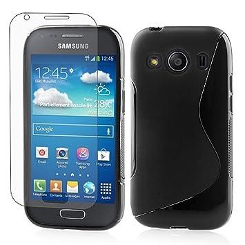 3a87420bb1e Negro Funda Silicona TPU Gel Case Cover para Samsung Galaxy Ace 4 SM-G357FZ:  Amazon.es: Electrónica