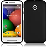 Pleasing Black Hard Case Cover Premium Protector for Motorola Moto E XT830C (by Straight Talk) with Free Gift Reliable Accessory Pen