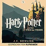 Harry Potter und der Stein der Weisen: Gesprochen von Rufus Beck (Harry Potter 1) (audio edition)