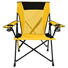 When you have the Kijaro Dual Lock Chair in your car you have an easy-to-use seat for whatever the occasion: a soccer game, tailgating, watching fireworks – no matter what the outdoor event is, you're sure to have an awesome seat. You'...