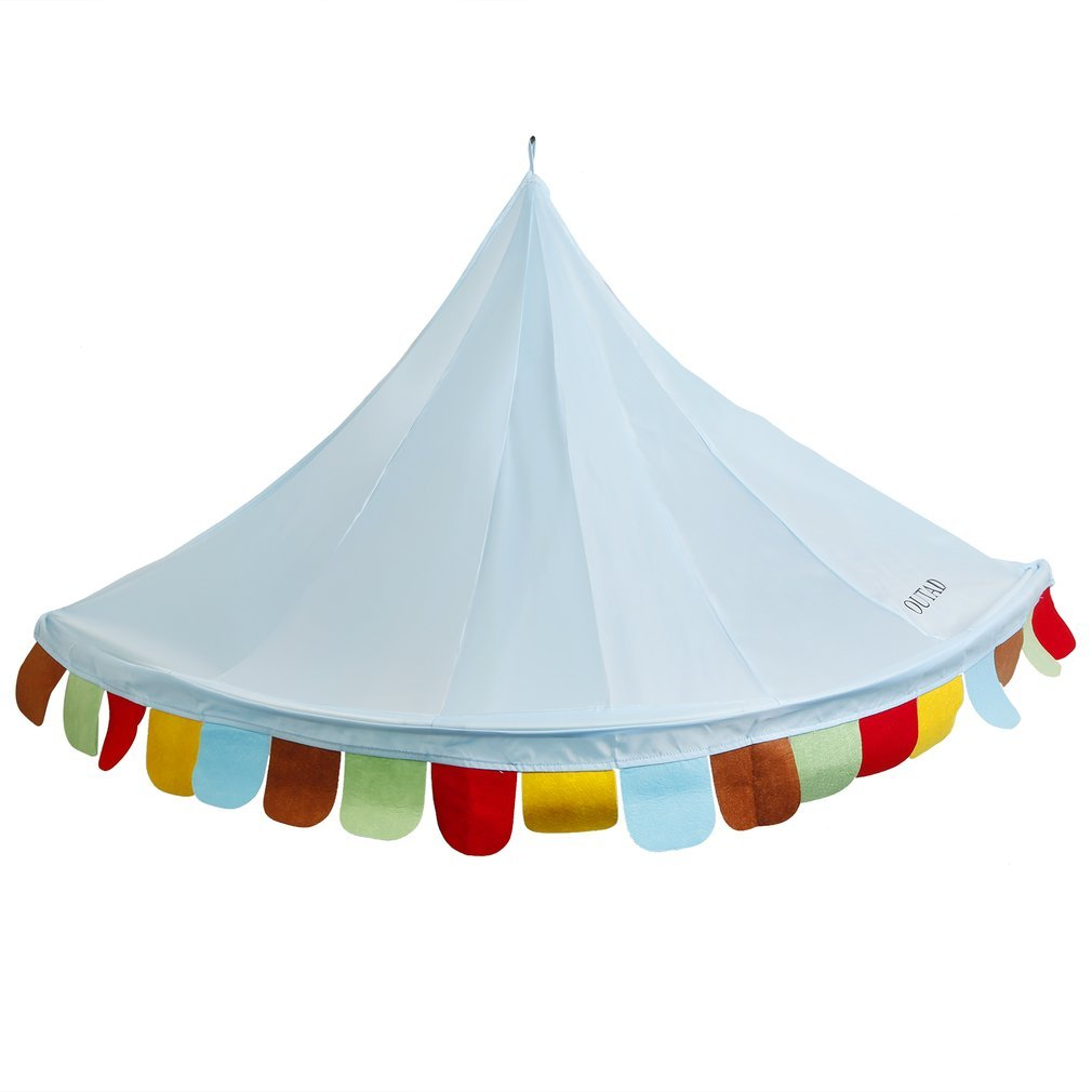 Bed Canopy,OUTAD Kid Canopy Tent Corner Teepee Tent Reading Canopy,Cute Style for Baby Kids Reading Play Tents