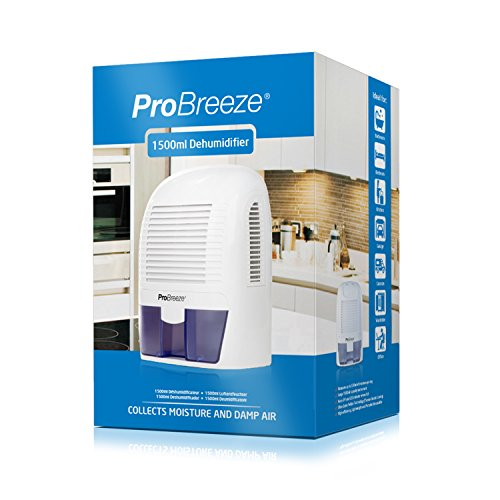 Pro Breeze PB-03-US Electric Mini Dehumidifier, 2200 Cubic