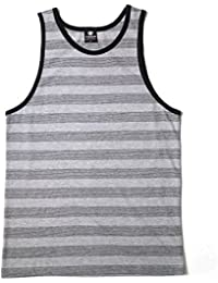 Men's Striped Tank Top