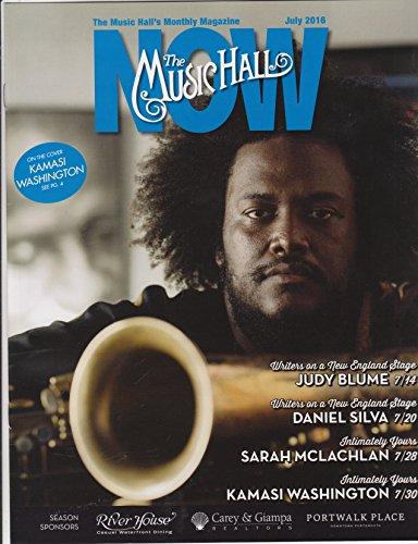 KAMASI WASHINGTON July 2016 cover The Music Hall magazine Portsmouth NH Milk Carton - Magazine Carton
