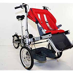 STROLLER BIKE. Electric scooter for adults and for children. Maximum speed: 30 km/h. Tire (15-inch).