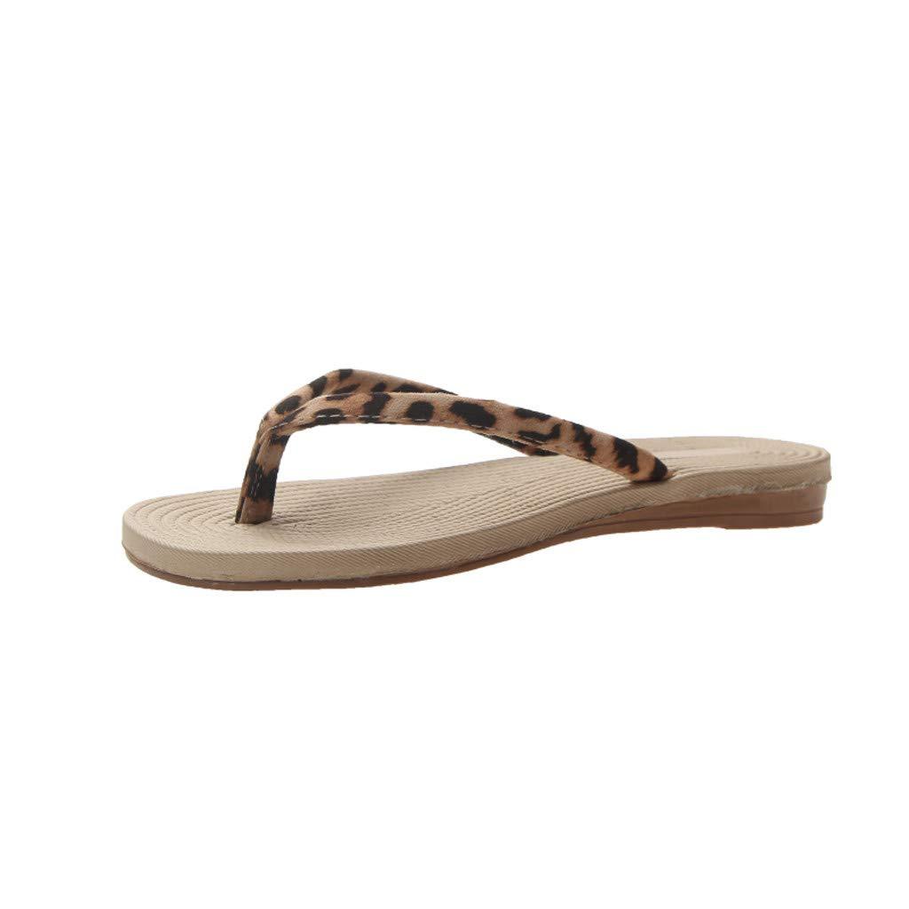 7ea30e8a97c34 Amazon.com: {Minikoad}Women Beach Sandals,Ladies Flip-Flops Flat Toe ...