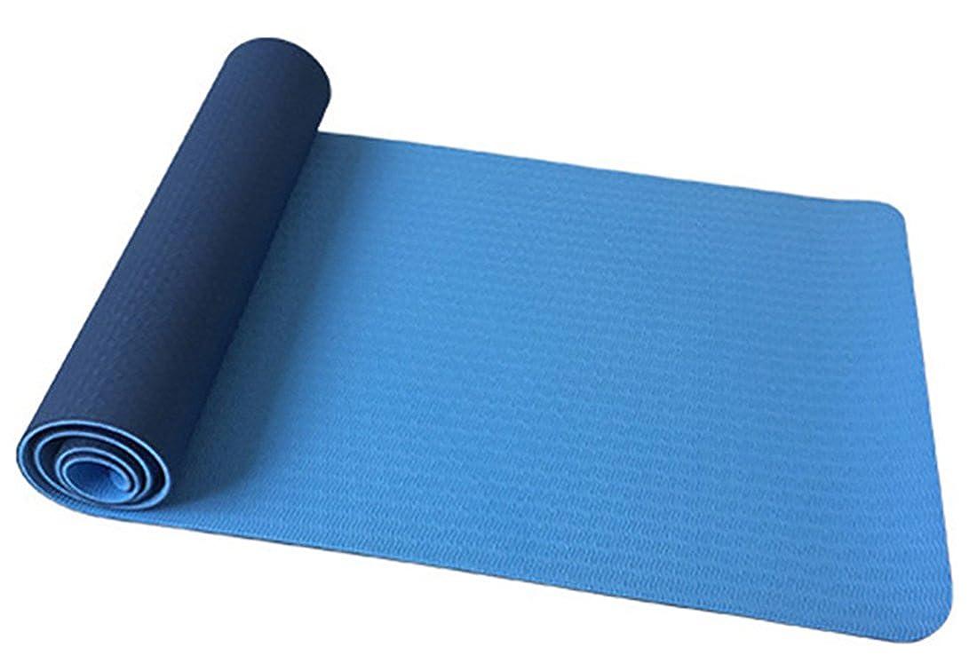 JYR Premium Yogamatte Rutschfestes Umweltfreundliches Leichtgewicht von Yoga Pilates für Fitnessübungen