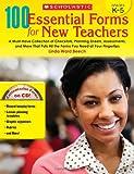 100 Essential Forms for New Teachers, Linda Ward Beech, 0545273498