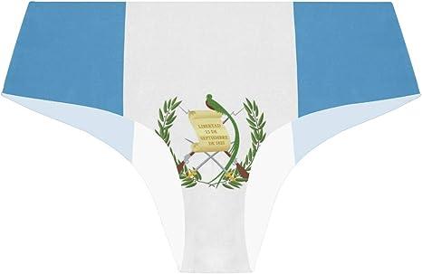 FANTAZIO - Bragas de la Bandera de Guatemala para Mujer: Amazon.es: Ropa y accesorios
