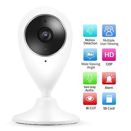 Kafuty Cámara de vigilancia con cámara de Seguridad IP 720P ...