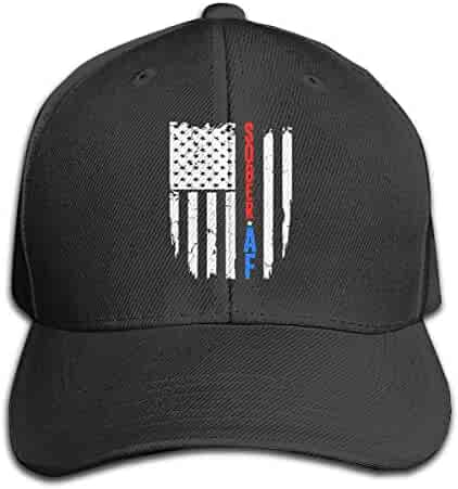 5835da83f62ea1 Sober AF Flag Men and Women Adjustable Baseball Cap Dad Hat Snapback Hats