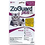 ZoGuard Plus Flea and Tick Prevention for Cats,6 Months Protection, Over 1.5 lbs, 6 Doses