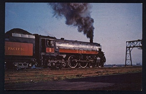 - Canadian Pacific # 2929 Locomotive Steam Engine Railroad Postcard RR CP