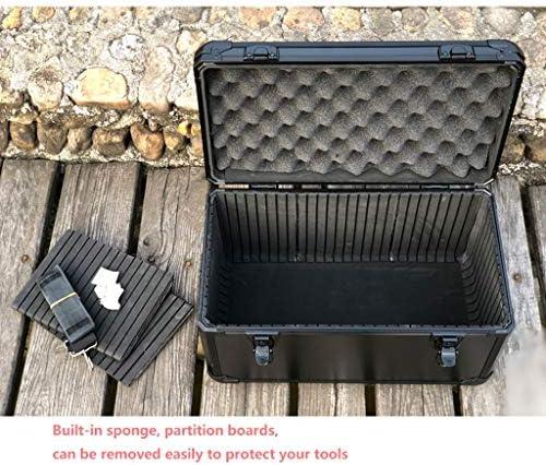 JSY ブラックアルミスーツケース計器ケースツールボックスのパーティション ツールボックス