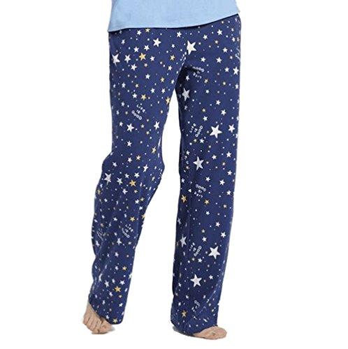 Life is Good Womens Pajama Bottoms Graphic Designs,Darkest Blue,Medium from Life is Good
