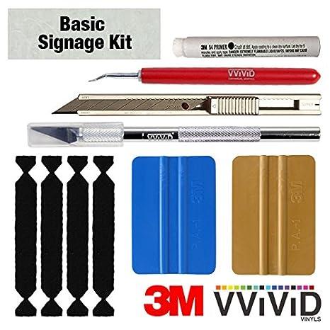 VViViD Detailer Vinyl Car Wrap Tool-Kit (Basic Signage Kit)