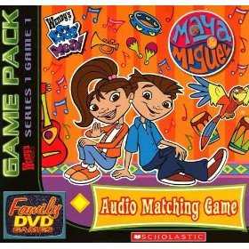 Wendys Kids Meals Maya and Miguel Audio Matching Game (Family DVD Games) by Scholastic