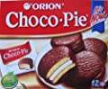 Orion Choco Pie, 0.99-ounce Units (Pack of 36) from Orion