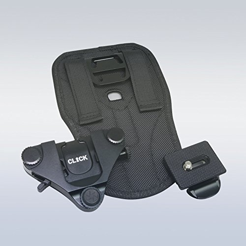 Click Secondary Camera Holster & Pro Quick Release Plate by Turbo Ace