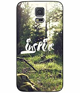 Green Grass Inspire TPU RUBBER SILICONE Phone Case Back Cover Samsung Galaxy S5 I9600