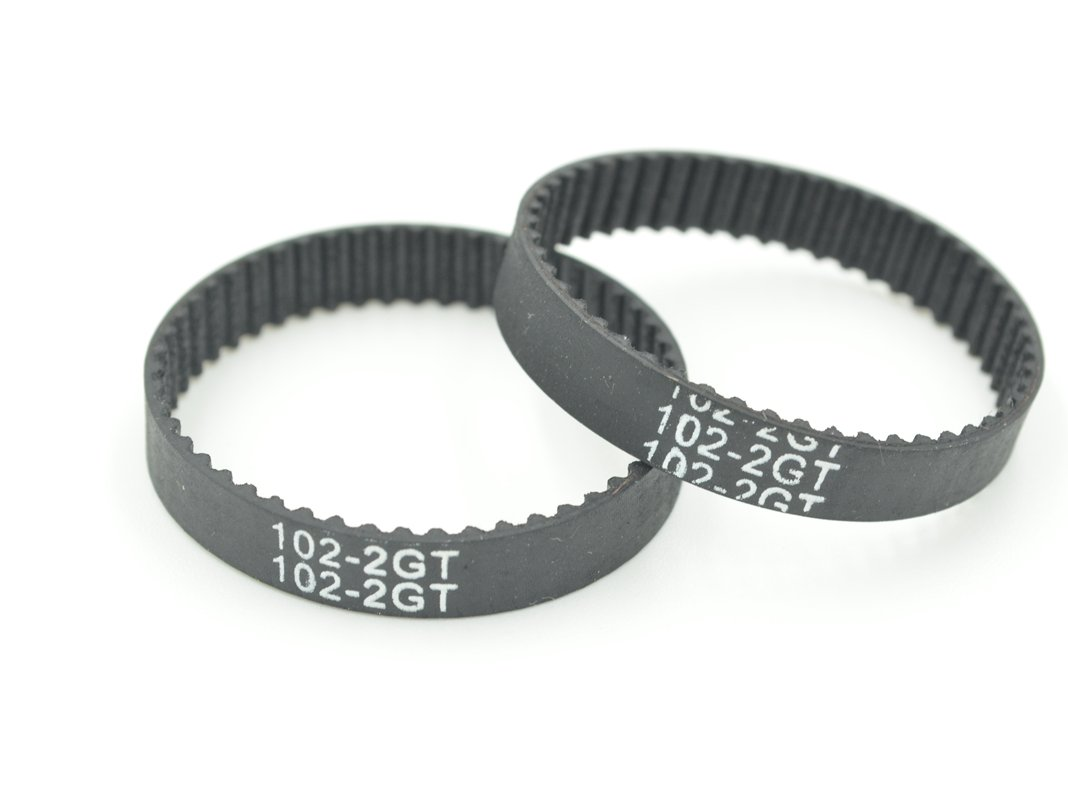POWGE 51 Teeth GT2 Timing Belt L=102mm W=6mm Color Black Pack in Closed Loop Of 10pcs Ningbo Jiangbei Powge Transmission Component Co. Ltd