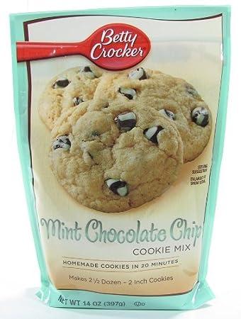 Betty Crocker Peppermint Chocolate Cake Mix Sandwich Cookies