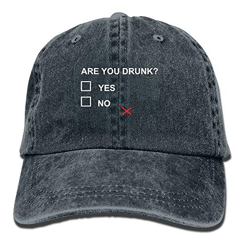 ISEAREX are You Drunk Funny Beer Drinking Unisex Adult Adjustable Retro Dad Hats (Reducer Bush)