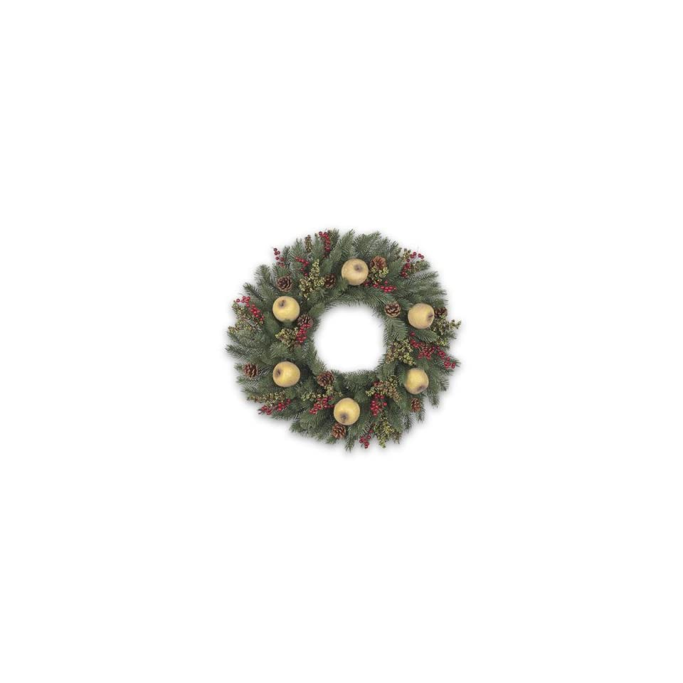 32 Vermont White Spruce Holiday Artificial Christmas Wreath   Unlit