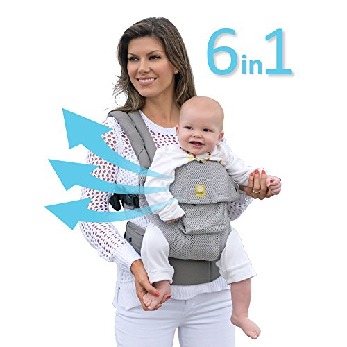 Lillebaby The Complete Airflow 360° Ergonomic Six-Position Baby & Child Carrier, - Baby Infant Insert Carrier Beco