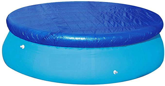 Unibos Easy Fast Prompt Set Paddling Swimming Pool Protector Cover Ties 8FT New