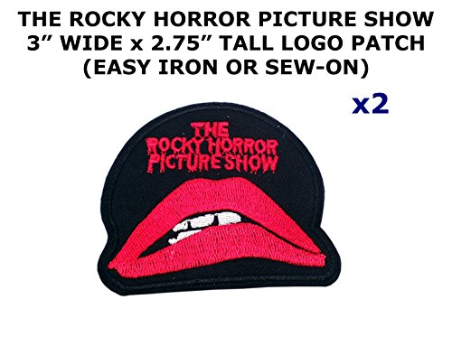 Rocky Horror Doctor Costume (2 PCS The Rocky Horror Picture Show Theme DIY Iron / Sew-on Decorative Applique Patches)