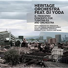 Prokofiev g concerto for turntables and for Jules buckley heritage orchestra