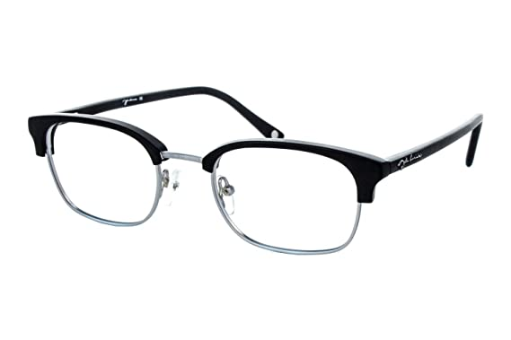c07fb9b6cda Amazon.com  John Lennon Mind Games Mens Eyeglass Frames - Black ...
