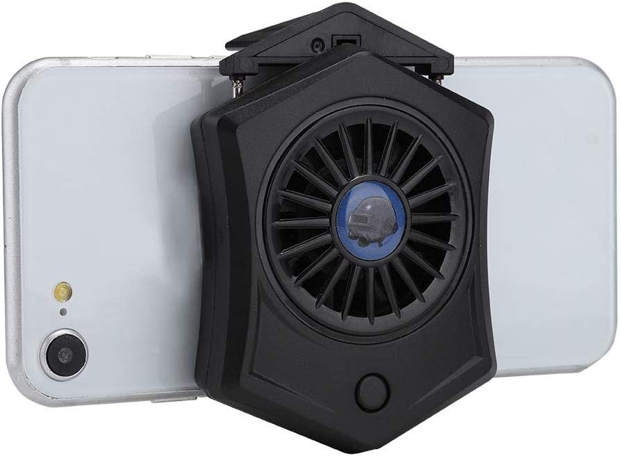 Water Cooled Radiator Mobile Phone Cooling Fan with Telescopic Clamp Lazmin Cell Phone Fan